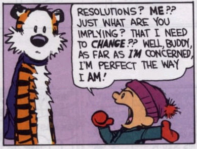 Calvin and Hobbes: Resolutions